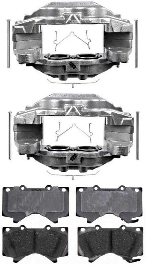 Prime Choice Auto Parts BRAKEPKG0003 Front /& Rear Performance Brake Rotors and 8 Ceramic Brake Pads