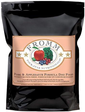 Fromm Family Foods 727686 4-Star Pork Applesauce 15 Lb Dry Dog Food 1 Pack