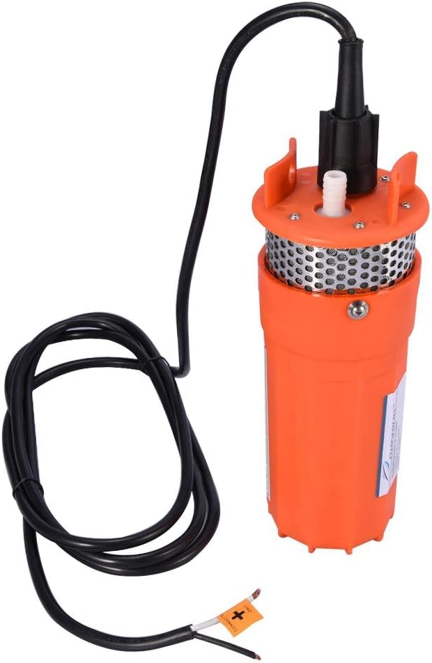 1/2 Pulgada 12V DC Bomba Sumergible de Energía Alternativa Solar para Agua de Pozo Profundo