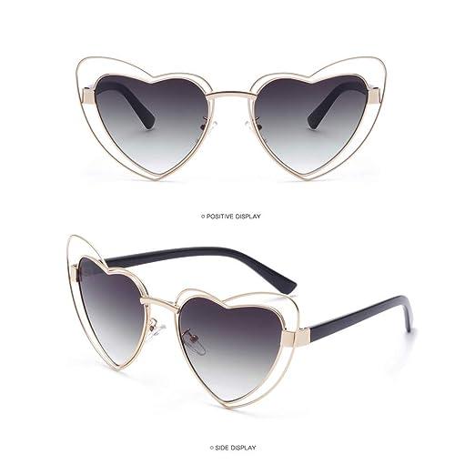 b9aa6f6ab0816 Islandse💖💖Women Men Vintage Eye Sunglasses Retro Eyewear Fashion  Radiation Protection (A)