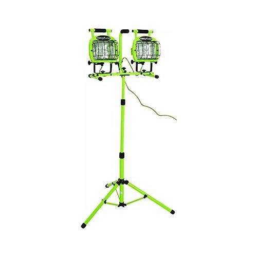Workforce Twin Head 1 000 Watt Halogen Telescoping Work: Light Tower: Amazon.com