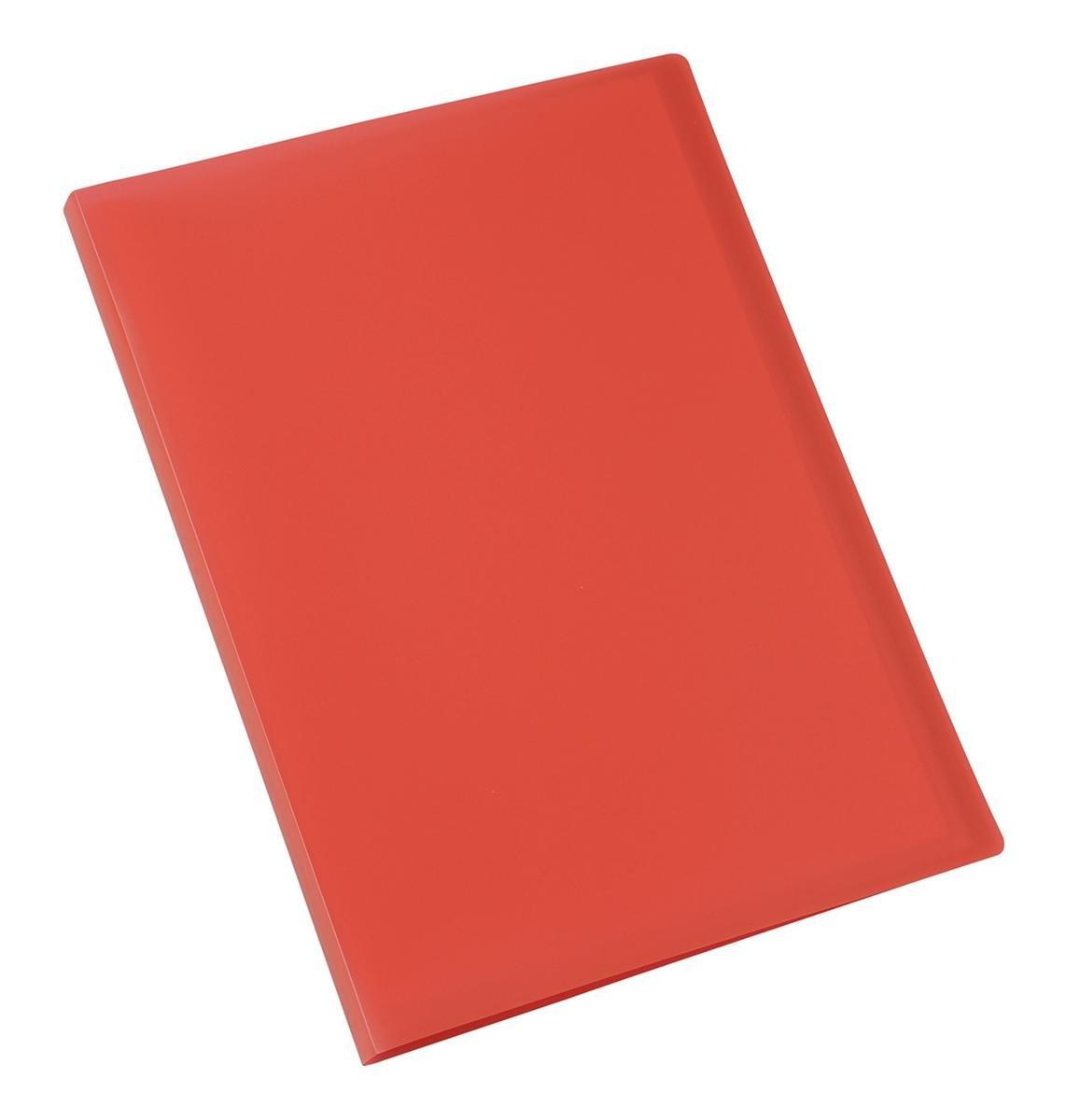 5 Star Display Book Soft Cover Lightweight Polypropylene 40 Pockets A4 Red OfficeCenter 901341