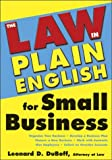 The Law in Plain English for Small Business, Leonard D. DuBoff, 1572483776