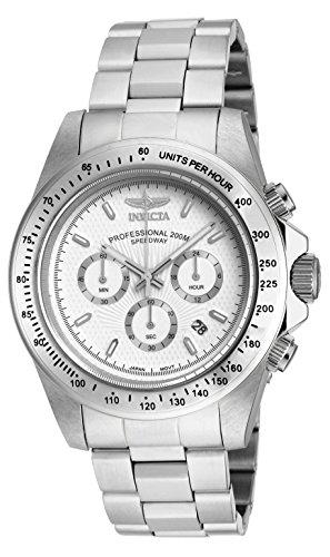 (Invicta Men's 18389 Speedway Stainless Steel Bracelet Watch)