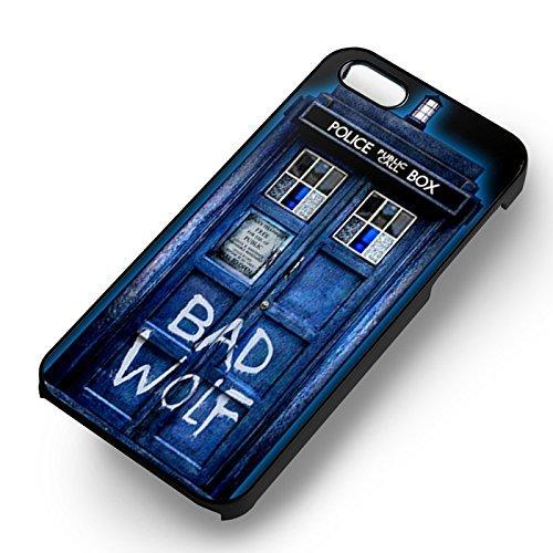 Bad Wolf 221b Sherlock Holmes pour Coque Iphone 6 et Coque Iphone 6s Case (Noir Boîtier en plastique dur) E3F1SS