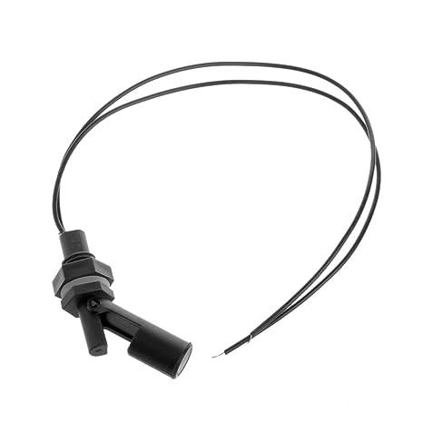 Longsw - Interruptor de Flotador Horizontal para acuarios y peceras, Sensor de Nivel de Agua