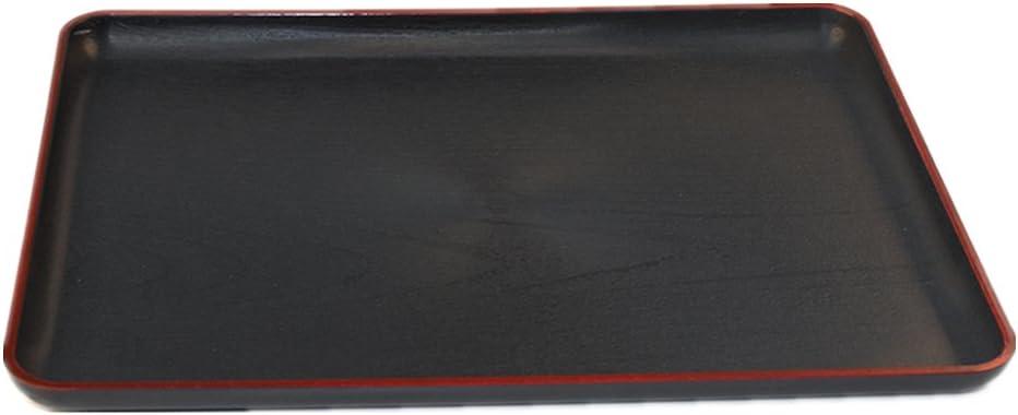toruiwa bandeja de plana de plástico para comida jardín 32.8* 23.5cm