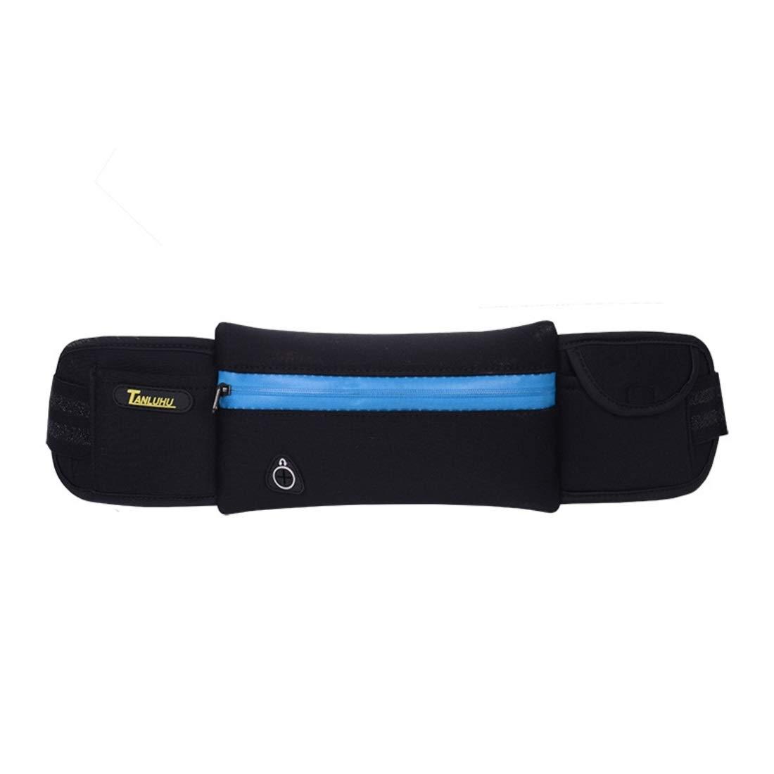 Igspfbjn Cinturón para Correr al Aire Libre Cinturón de Nylon Impermeable Bolsa de Seguridad Cinturón de Seguridad Cinturón de Jogging Teléfono móvil Bolsa para Caminar Vacaciones Senderismo Ciclismo