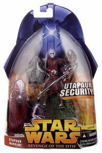 UTAPAUN WARRIOR Utapaun Security 2005 Star Wars Revenge of the Sith #53 Collection 2 Action Figure & Accessories (Star Wars 2005 Action Figures)