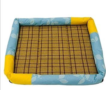 Lizes Alfombra de cama caliente para mascotas Almohada de enfriamiento de la cama cómoda del perro