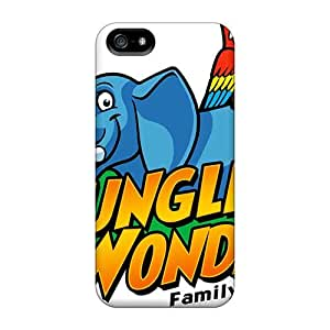 PamelaSmith Iphone 5/5s Scratch Protection Mobile Covers Allow Personal Design Vivid The Jungle Book Series [ZyG7556Tebw]