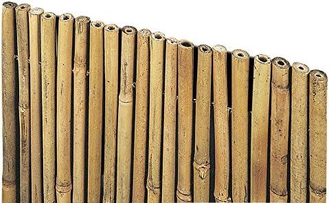 Red de cañas de Bambú, 1 x 3 m, para sombreado de jardín exterior ...