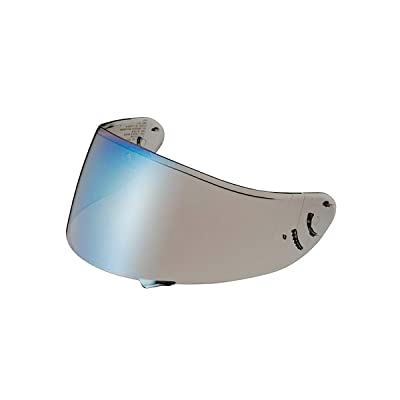 Shoei CWR-1 Spectra Pinlock Shield (Blue): Sports & Outdoors