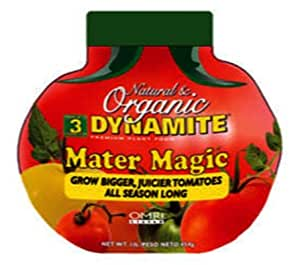 Dynamite 605910 Natural and Organic Mater Magic Plant Food, 0.675-Pound