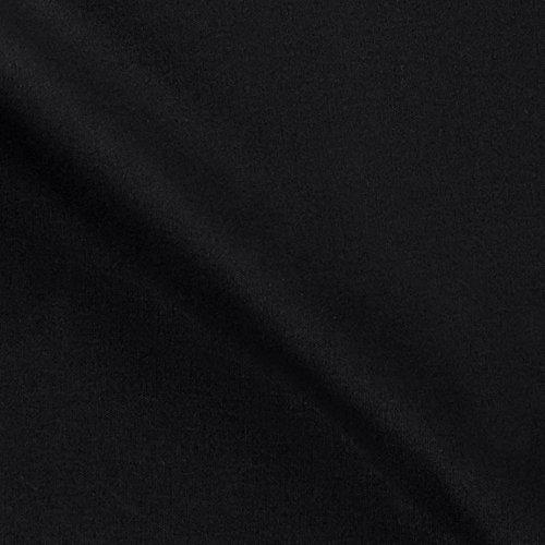 13.7 oz Waxed Army Duck Canvas Black Fabric By The Yard