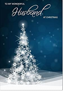 Happy Christmas Husband Christmas Card | Xmas Greetings Cards for ...