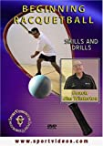 Beginning Racquetball: Skills and Drills DVD featuring Coach Jim Winterton