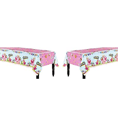 Unique Industries Shopkins Table Cover 2 Pieces by Party Supplies: Toys & Games