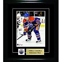 Frameworth Jordan Eberle-8x10 Pin and Plate Edmonton Oilers