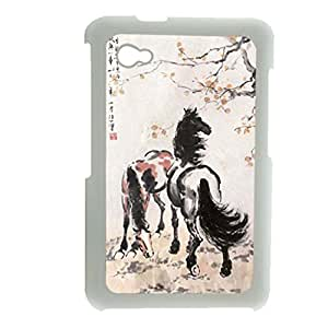 Generic Defender Back Phone Cover For Teen Girls Design With Asian Horse Artists For Samsung Galaxy Tab P6200 Choose Design 6