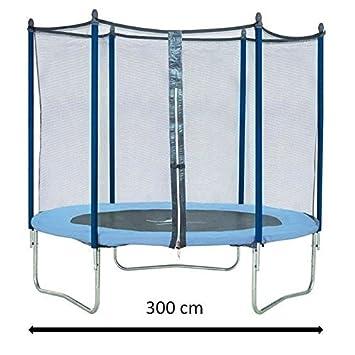 KANGUI cama elástica 305 cm, con red: Amazon.es: Juguetes y juegos