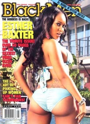 Black Men Magazine: Esther Baxter (August