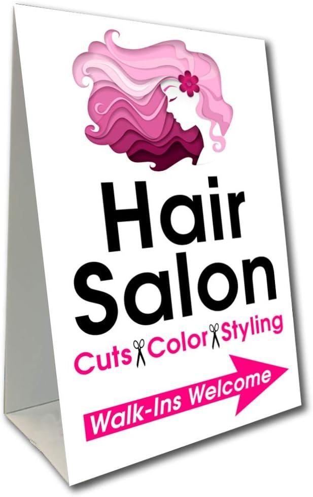 Amazon.com: Letrero de peluquería con diseño de flecha, 16.0 ...