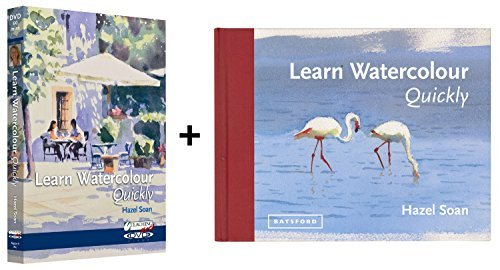Learn Watercolour Quickly Book & DVD set with Hazel Soan by SAA, The Society for All Artists