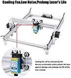 0.01mm Accuracy Laser Engraving Machine, 2500mW