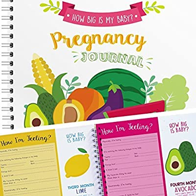 My 9 Months Journey - Belly Book, Pregnancy Journal and Baby Memory