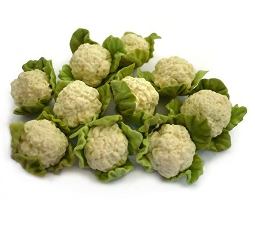 10 B07B4TH8TT pcsドールハウスミニチュアフード野菜Cauliflowers 10 B07B4TH8TT, ミニチュアのすぃーとあっぷるぱい:03bc6cb6 --- alumnibooster.club