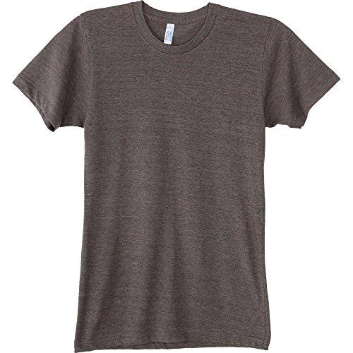 T Sleeve Shirt Apparel Durable Triblend Coffee Short Track American Tri Mens 6wP0Ix6q