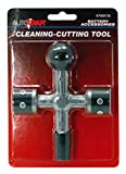 Cal Hawk Tools AZBC4 4-Way Battery Post and Terminal Cleaner
