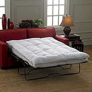 Amazoncom Sleeper Sofa Mattress TopperQueen By Improvements - Mattress for sofa bed