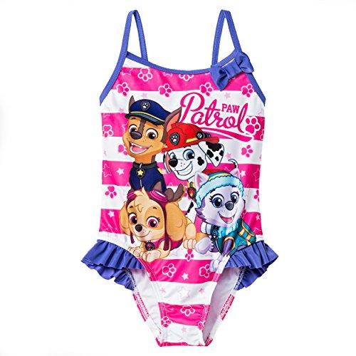 Paw Patrol Girls Swimwear Swimsuit (Toddler/Little Kid)