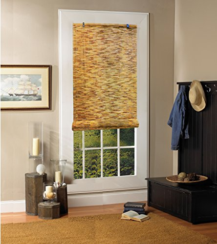 RADIANCE 0360486 Natural Woven Reed Light Filtering Roll Up Window Blind, 48-Inch Wide by 72-Inch High by RADIANCE (Image #2)