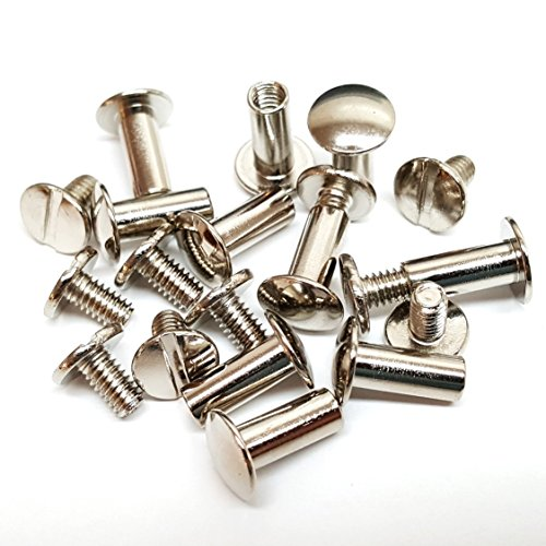 Pack quot solid chicago screws leather repair screw