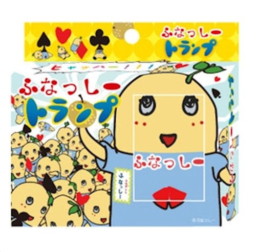 Nasshi playing cards fu (japan import)