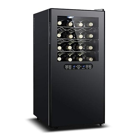 Nevera para Vinos 8 Capas, Nevera Termoeléctrica 32 Botellas De ...