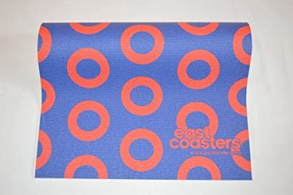 East Coasters Recycled Material Eco-friendly Fishman Donut Yoga Mat