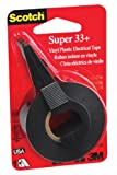 Scotch 3799NA 0.75 by 450 by 0.007-Inch Super 33+ Vinyl Electrical Tape with Dispenser