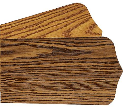 Quorum 4255650111, Five 42 Reversible Dark Oak/Medium Oak Pointed Type 1 Blades Quorum International