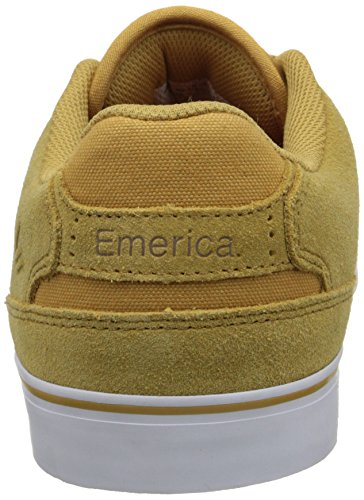 The Low Reynolds Tan Vulc Gum White Emerica da Uomo Scarpe Skateboard da qgOdx5nzw1