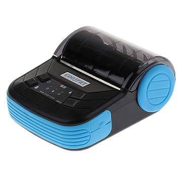 perfk 1 Pieza Mini 80mm Impresora Térmica pos Compactas ...