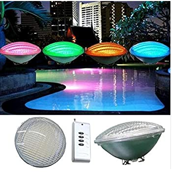 Best To Buy 12v Color Changing 54watt Pool Lights Led 450w Halogen Bulb Replacement Led