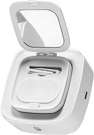 ARIN Mincaholiu estuche para lentes de contacto, estuche profesional de limpieza para lentes de contacto portátil y automático, caja de almacenamiento para enfermería, múltiples ocasiones: Amazon.es: Hogar