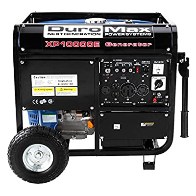 DuroMax 10000 Watts 16.0 Hp Gas Generator with Electric Start