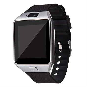QSJWLKJ Bluetooth Smart Watch Smartwatch Cámara de Tarjeta ...
