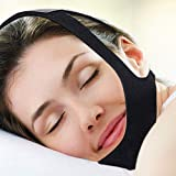 Upgraded Anti Snoring Chin Strap and Nose Vent-The Most Effective Stop Snoring Solution,Aid Apnea Devices During Sleep by Original Physical Healthcare