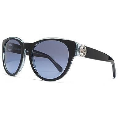 MICHAEL KORS Michael Kors Damen Sonnenbrille »BERMUDA MK6001B«, schwarz, 300117 - schwarz/ blau